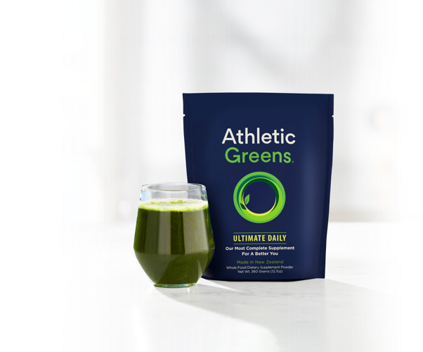 The Whole Food Supplement For Optimal Health – Athletic Greens